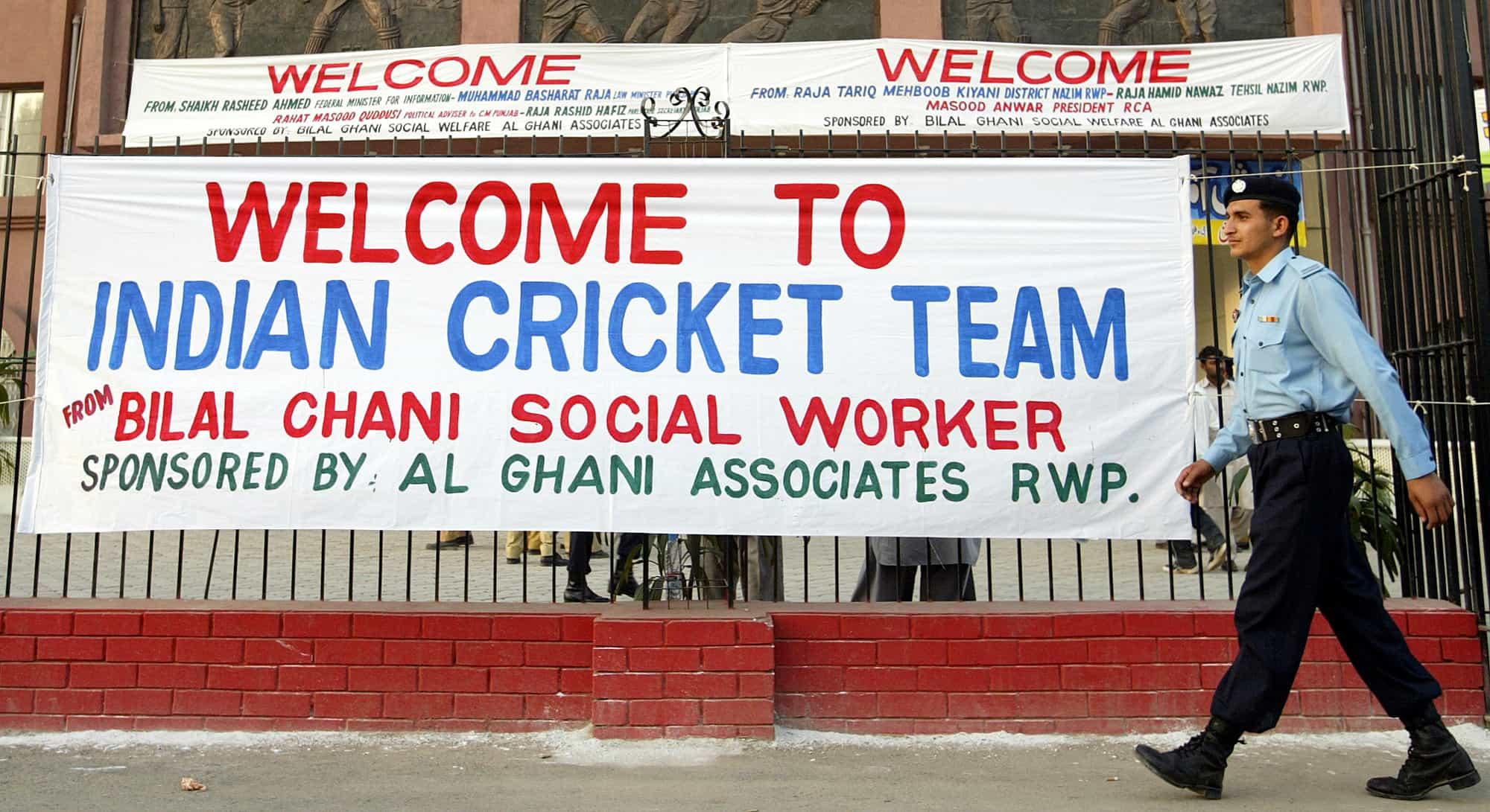 India-Pakistan cricket