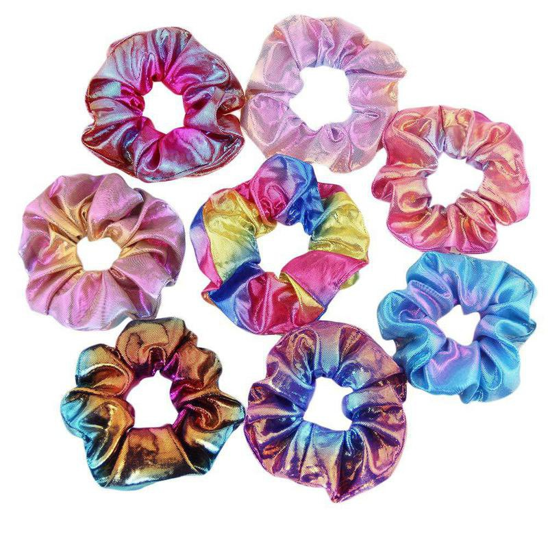 Miuance 24 Pack 8 Colors Hair Scrunchies