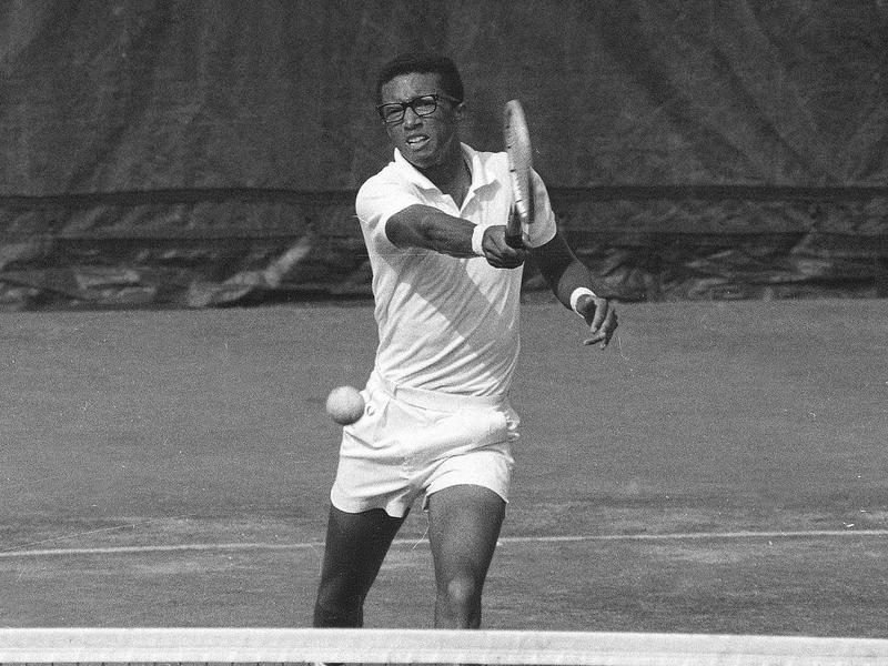Arthur Ashe in 1968