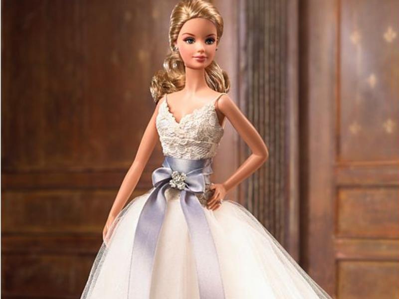 Monique Lhuillier Bride Barbie