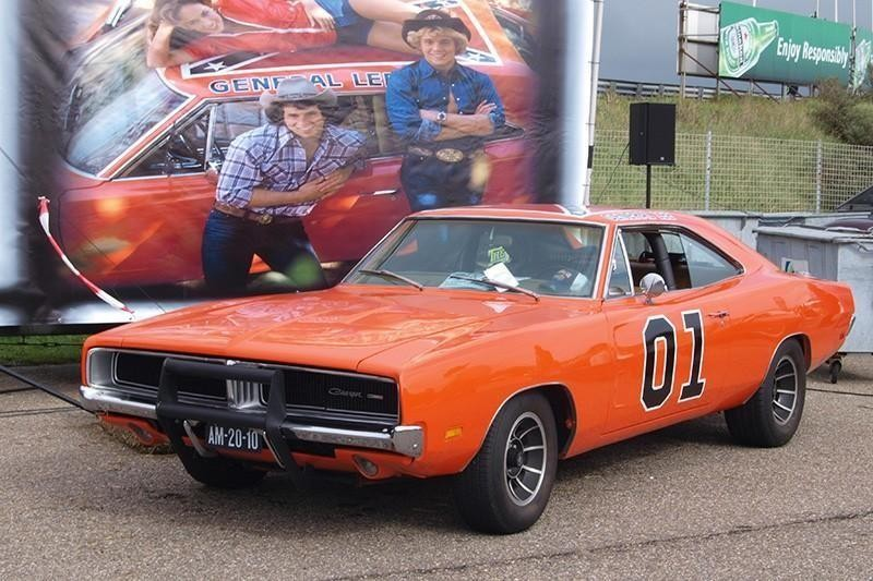 """34. 1969 Dodge Charger, AKA """"the General Lee"""""""