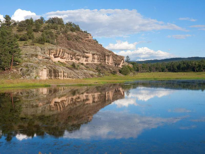Wall Lake, Gila National Forest, New Mexico, USA