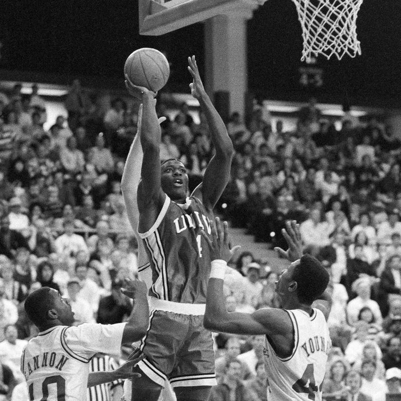 Larry Johnson in 1990