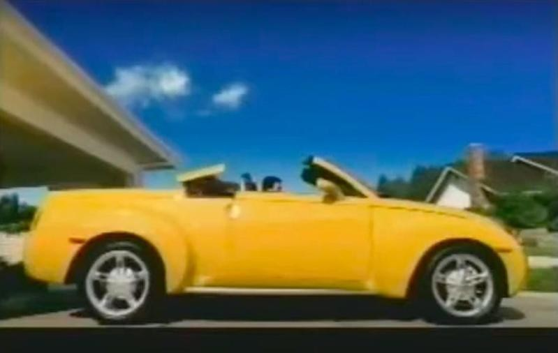 Chevrolet commercial in 2004