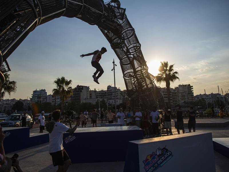 Competitor dramatic jump