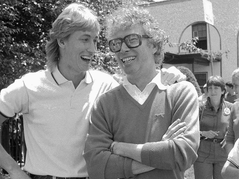 Wayne Gretzky and Kenneth Taylor