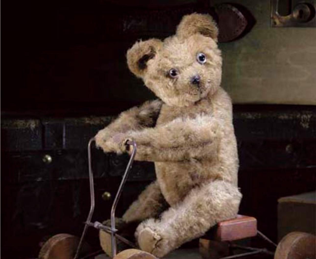 Omega Coaster Teddy Bear