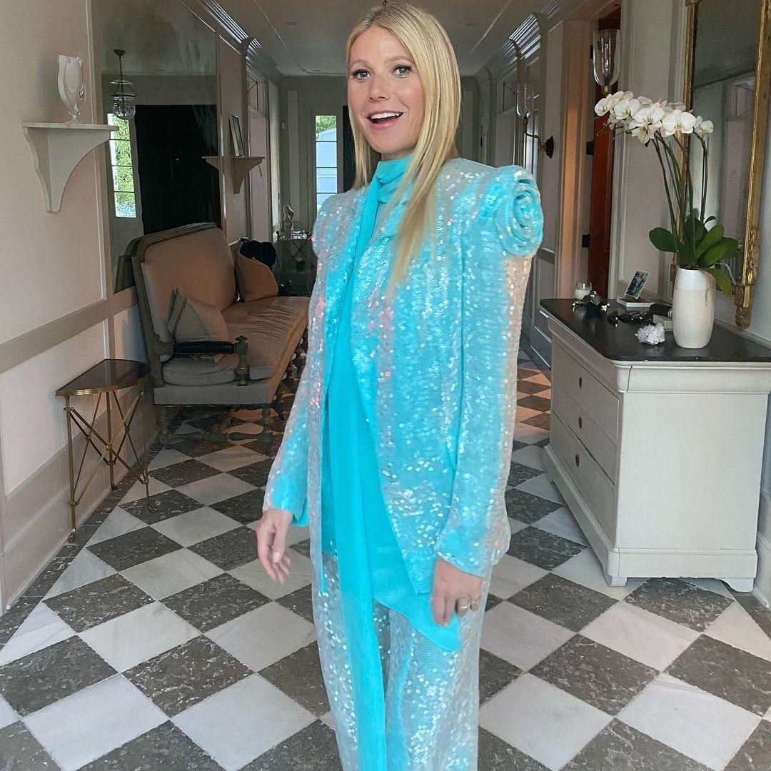 Gwyneth Paltrow at home