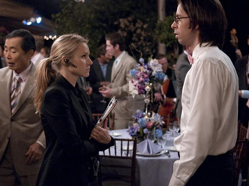 George Takei, Kristen Bell, and Martin Starr