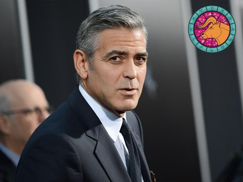 Taurus: George Clooney