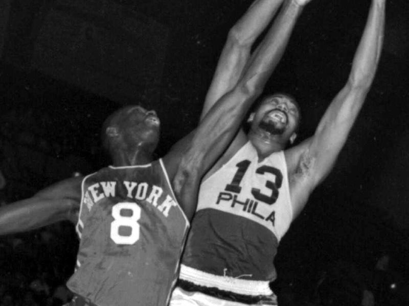New York Knicks center Walt Bellamy