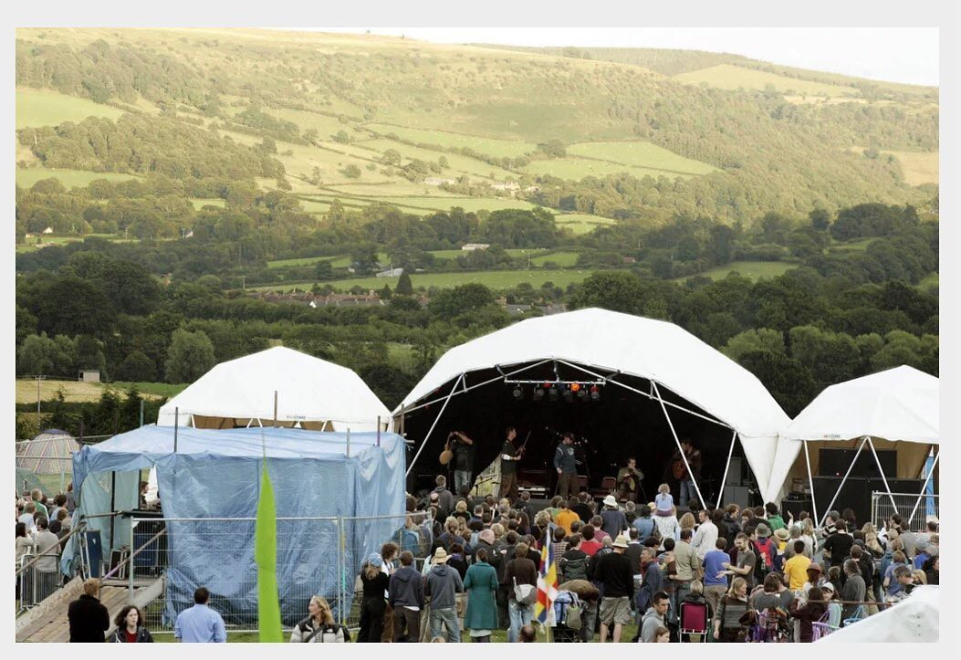 Green Man Festival outdoor scene