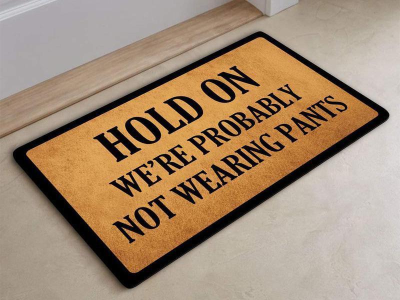 Hilarious doormat