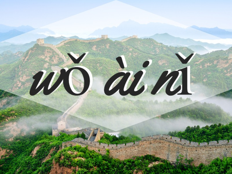 'I Love You' in Mandarin