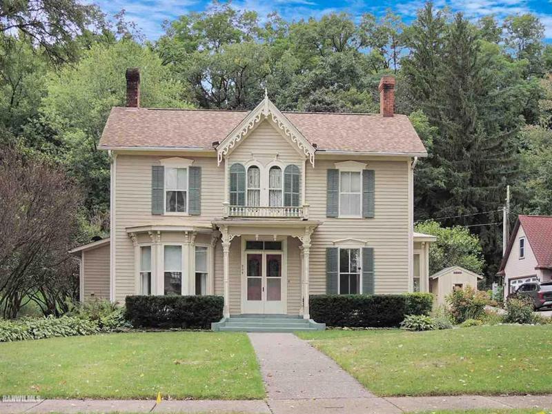 Victorian house in Galena, Illinois