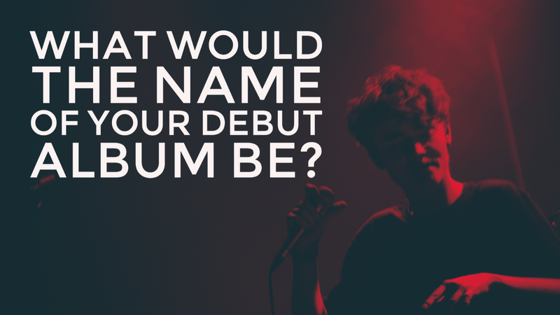 Debut album interview question