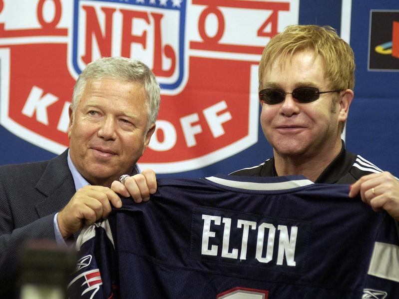 elton john new england patriots