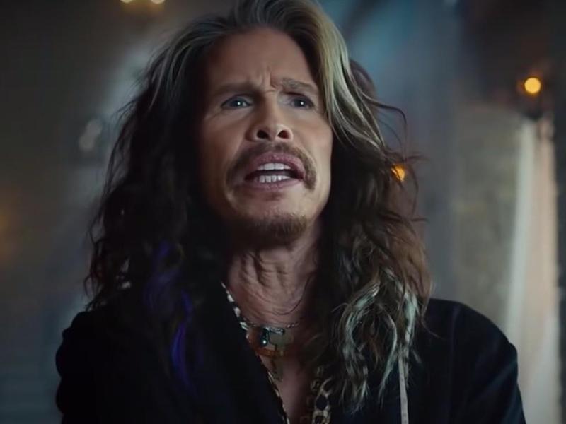 Skittles Steven Tyler commercial in 2016