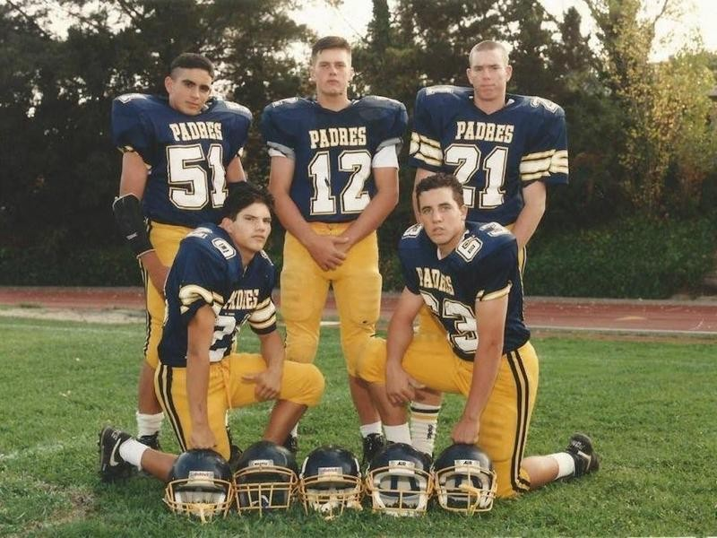Tom Brady in high school