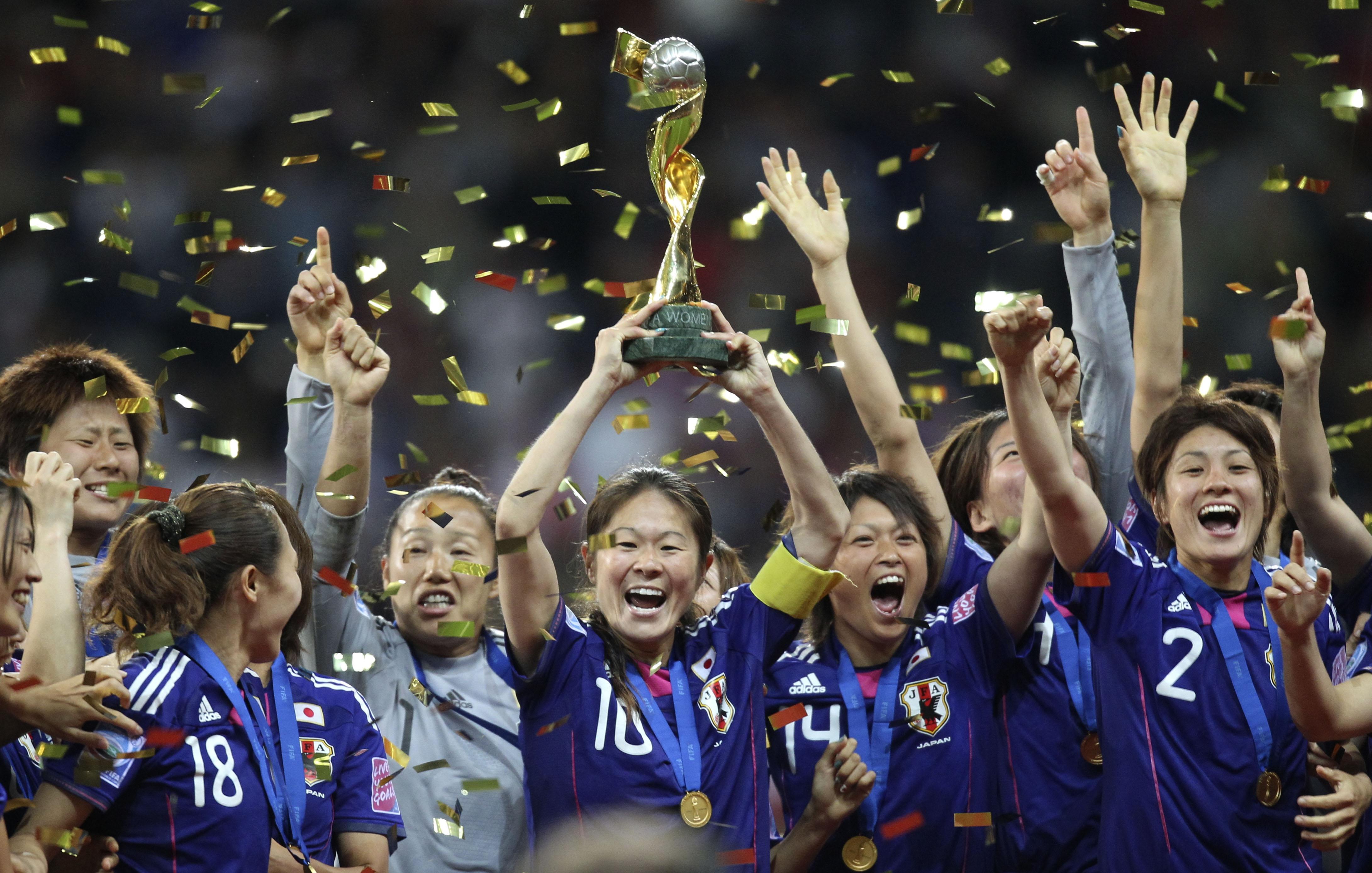 2011 Japan women's team