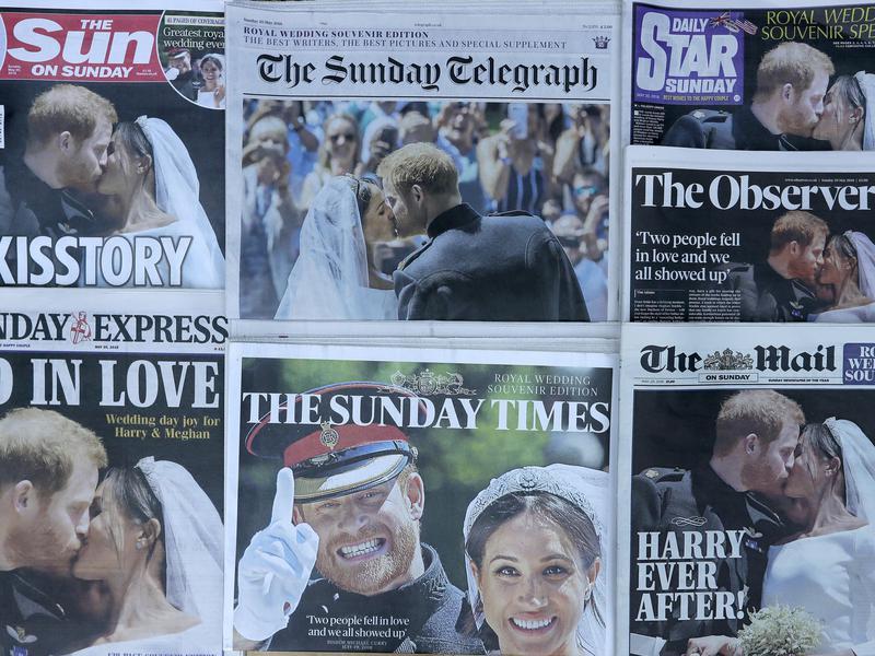 Royal Wedding Newspaper Coverage