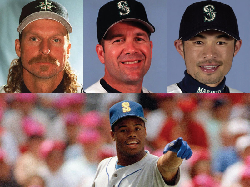 Seattle Mariners Mount Rushmore