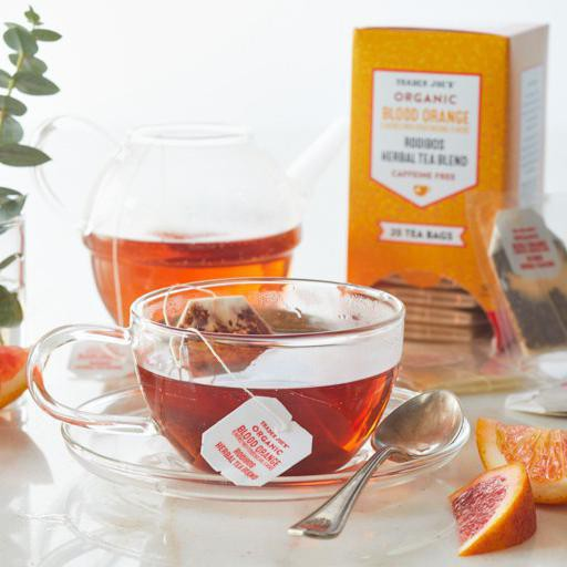 Trader Joe's blood orange tea