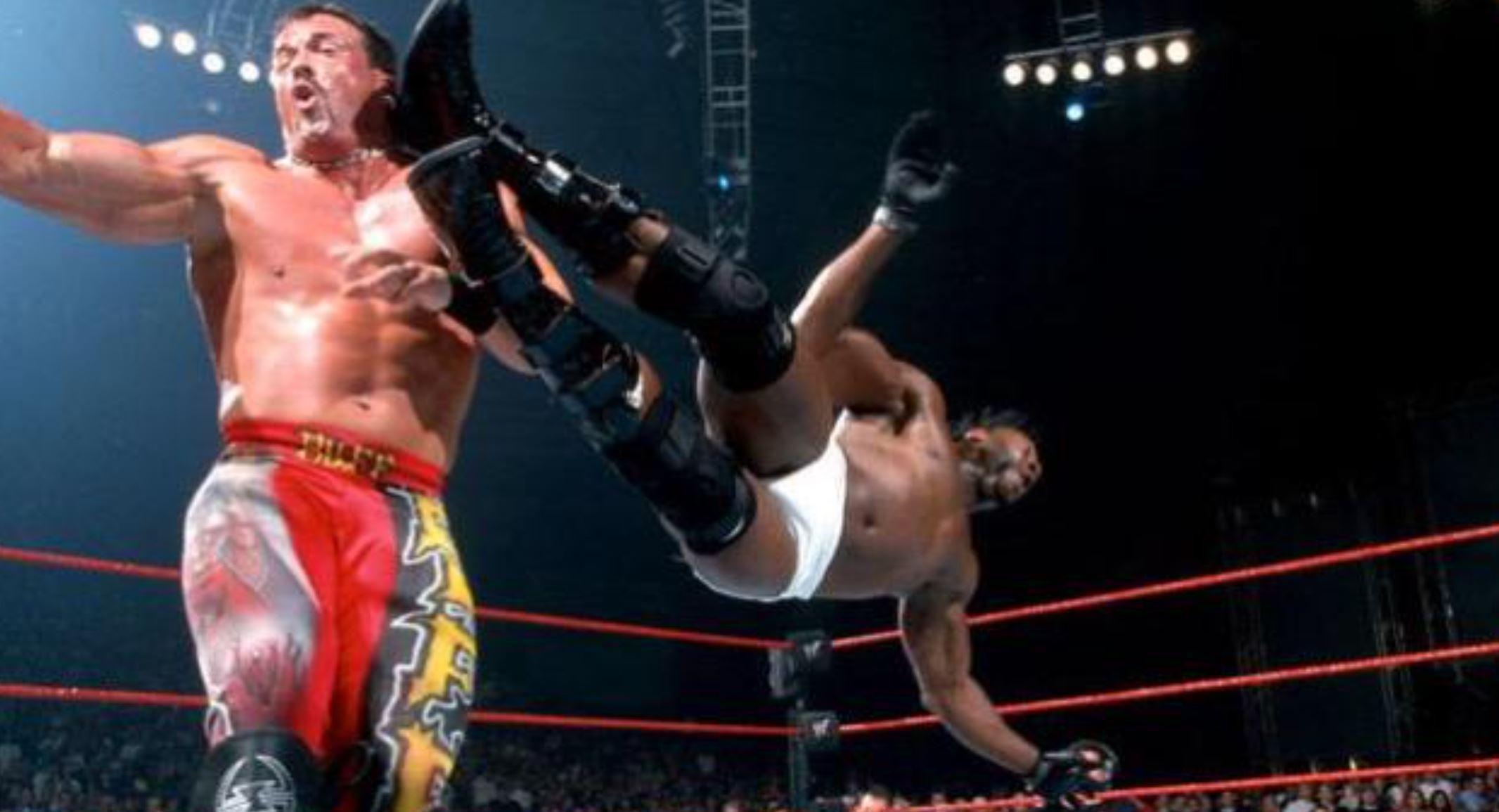 Booker T vs Buff Bagwell