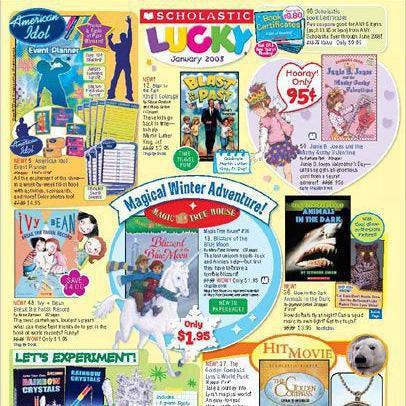 Scholastic Book Club catalog