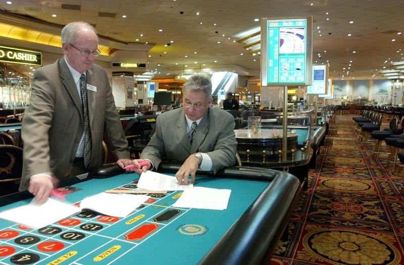Casino gaming managers
