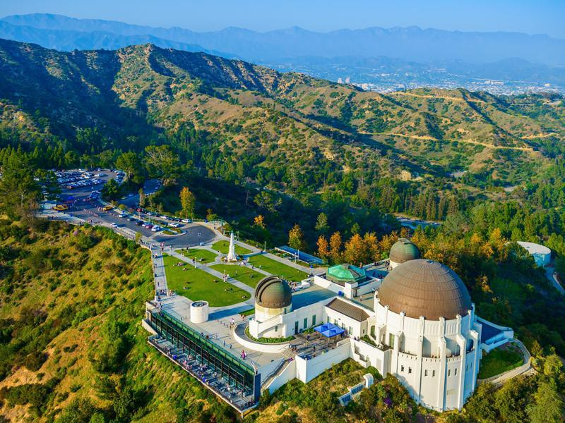 Griffith Observatory, Mount Hollywood