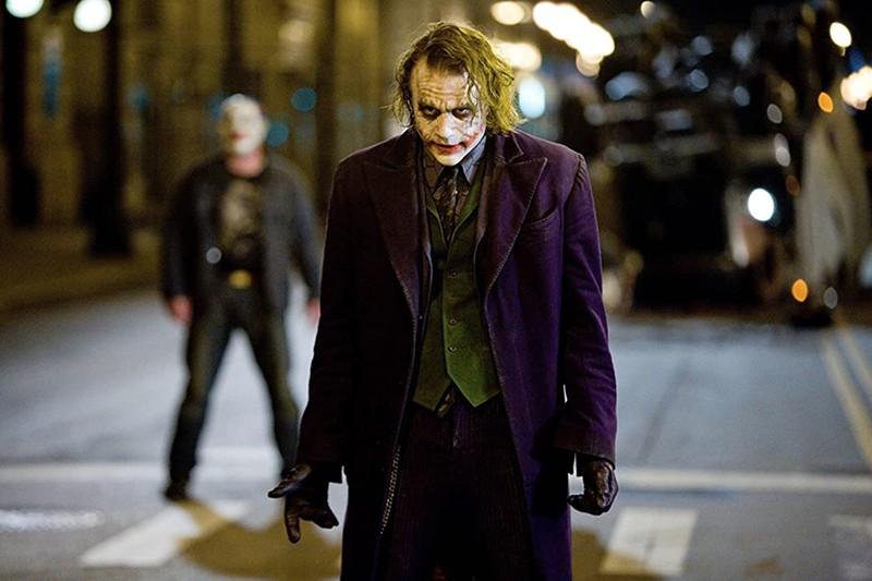 The Joker heath ledger