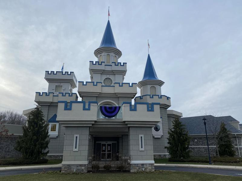 Outside view of the Wishing Place