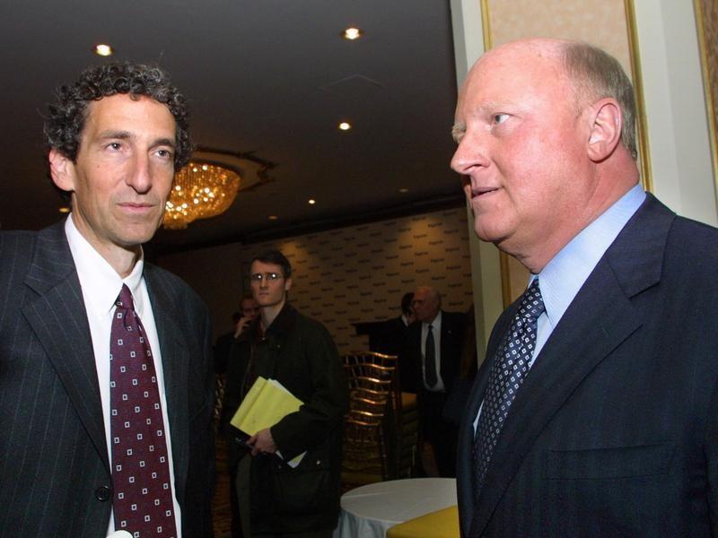 Dennis Kozlowski and Mark Swartz