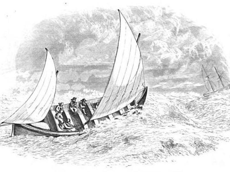 Self-righting lifeboat