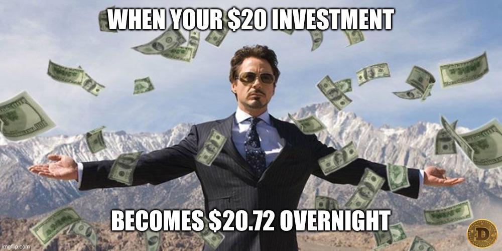 Tony Stark investment