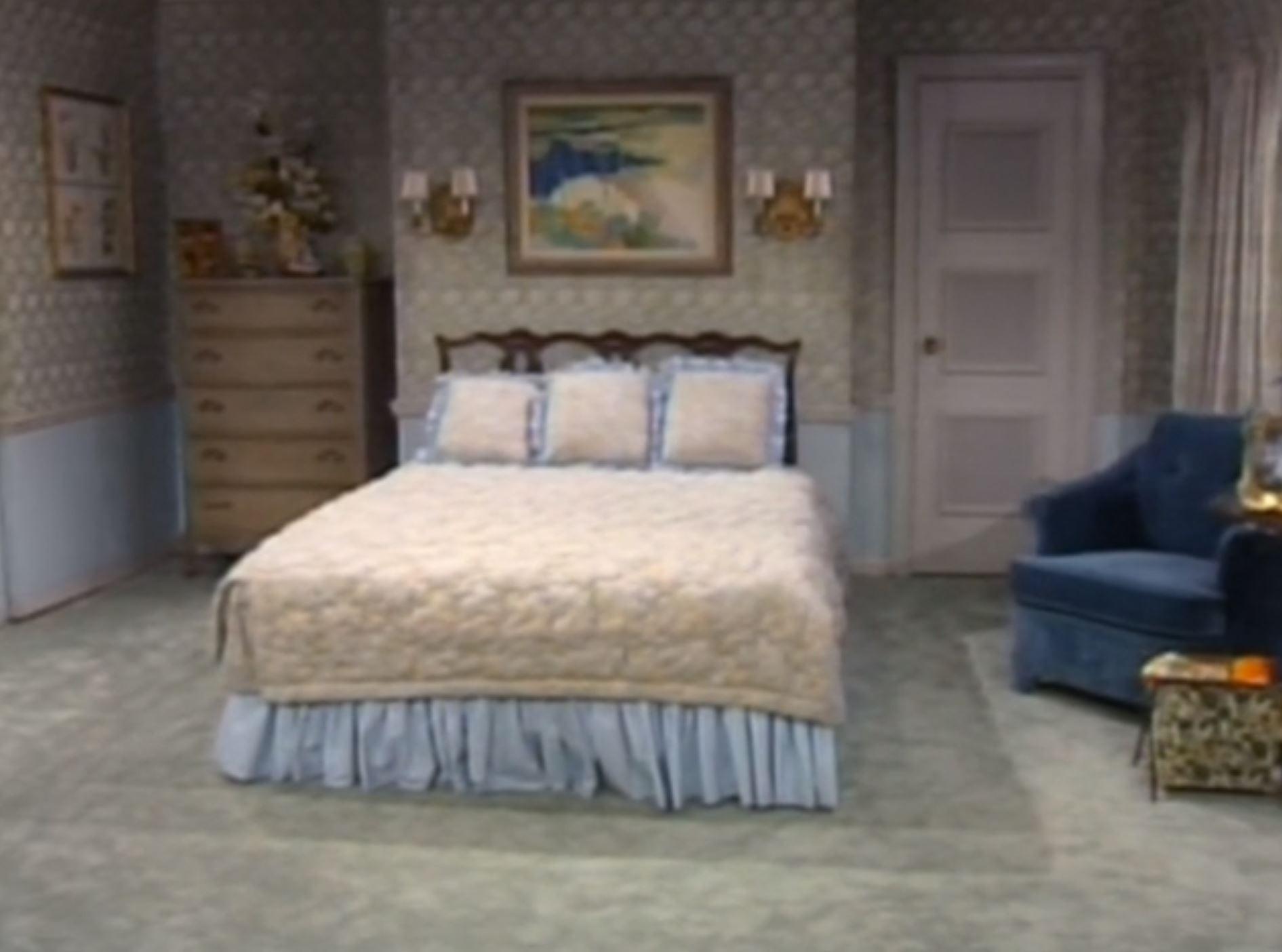 Sophia's bedroom from The Golden Girls