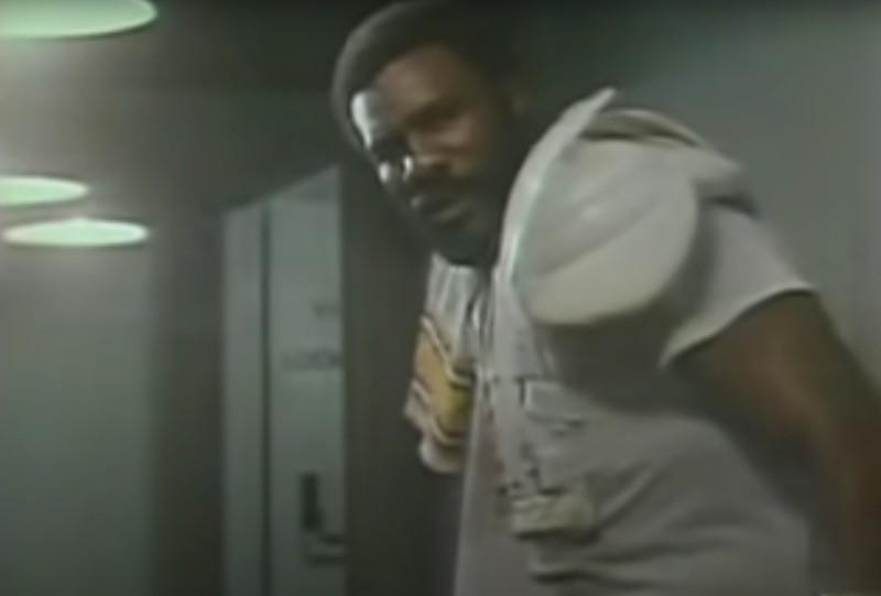 Joe Greene in 1979 Coke commercial