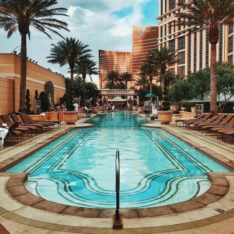 Golden Pool in Vegas
