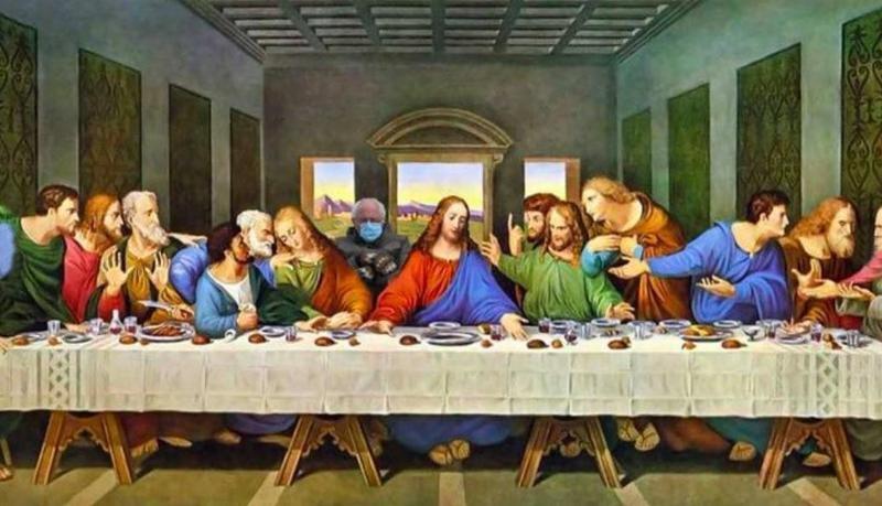 Bernie Sanders in The Last Supper
