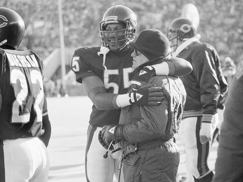 Otis Wilson and Buddy Ryan