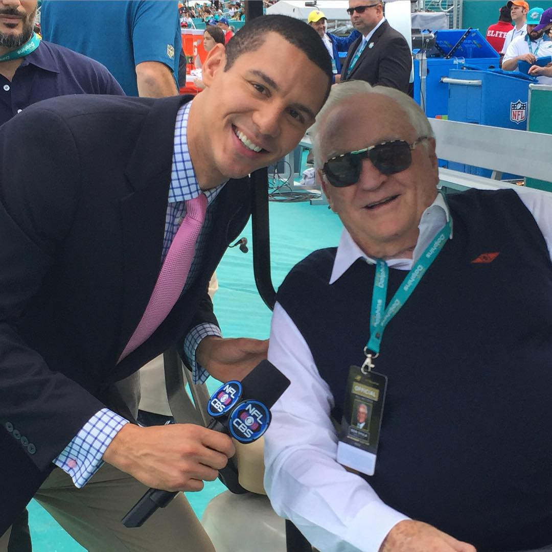 John Schriffen and Don Shula