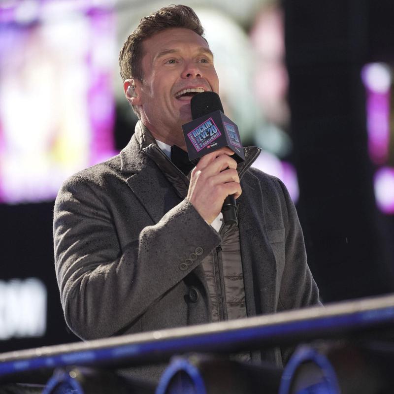 Ryan Seacrest hosts Dick Clarks New Year's Rockin' Eve