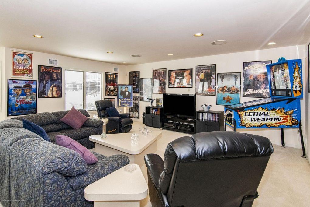 Joe Pesci's media room