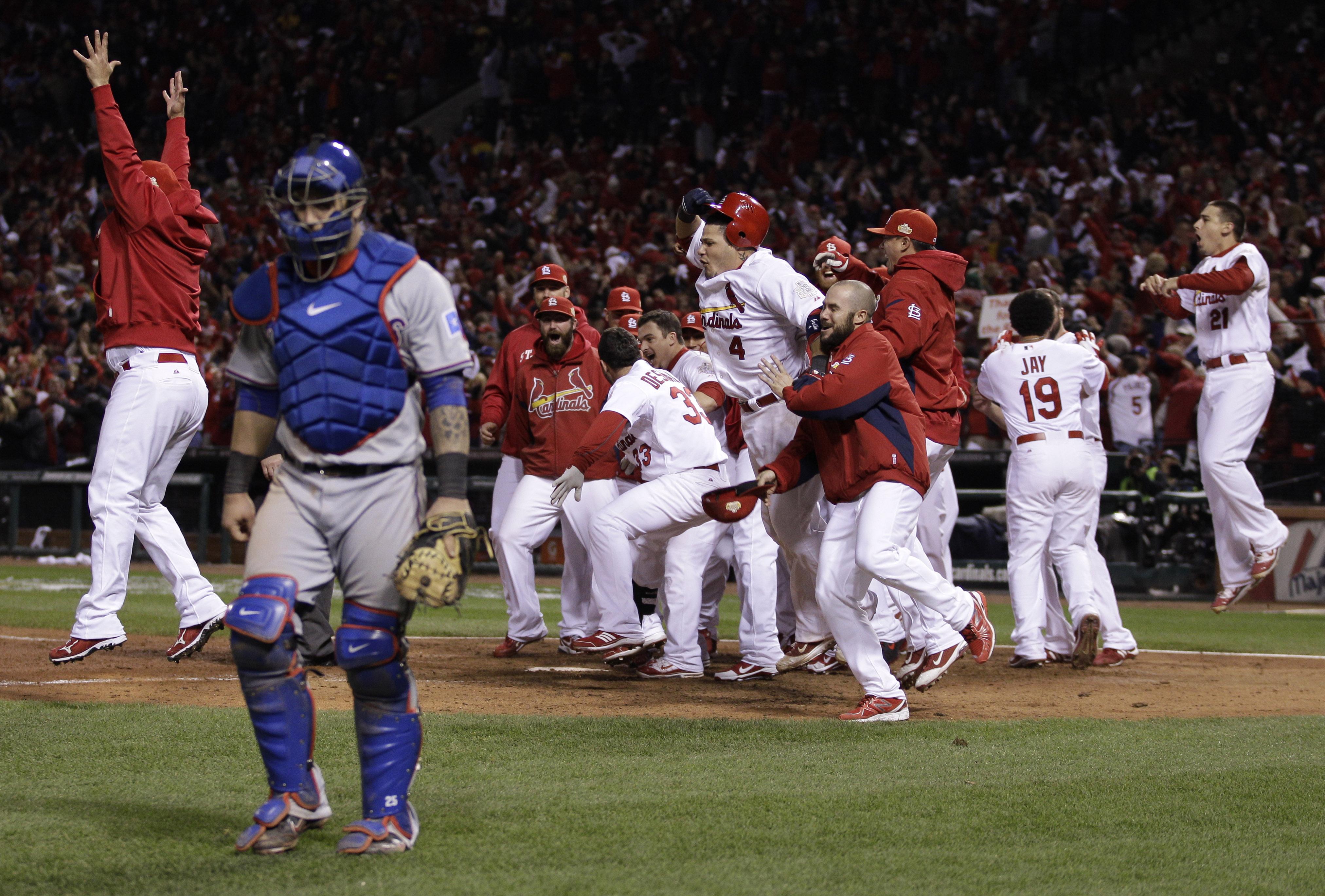 Rangers vs. Cardinals