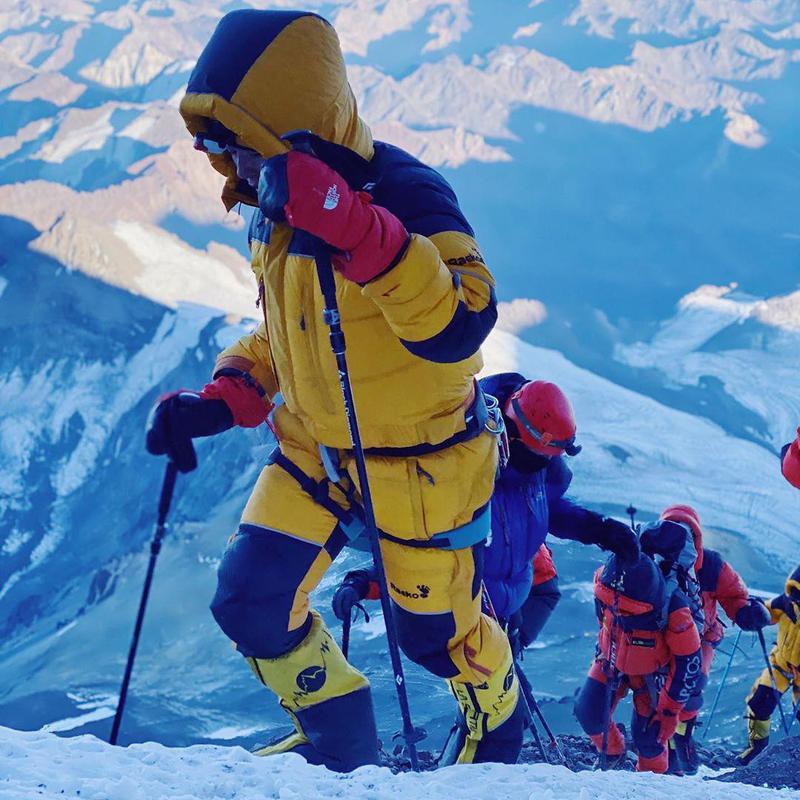 Climbers at Aconcagua