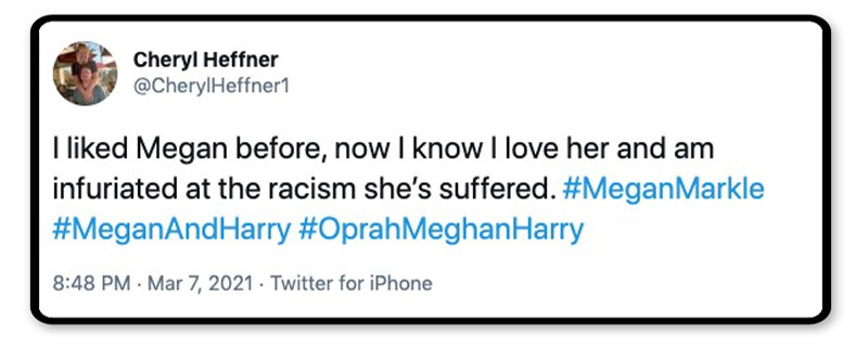She suffered racism