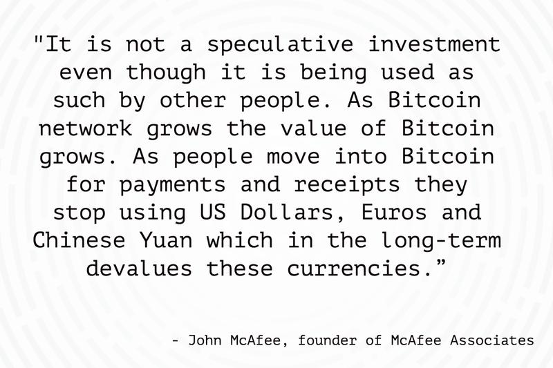 Speculative investment?