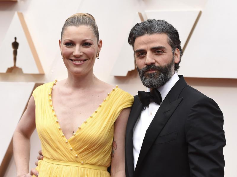 Elvira Lind and Oscar Issac