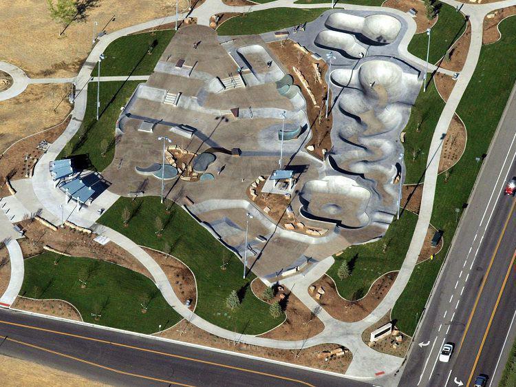Arvada Skate Park in Arvada, Colorado